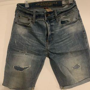 NWT American Eagle Core Flex Denim shorts size 31